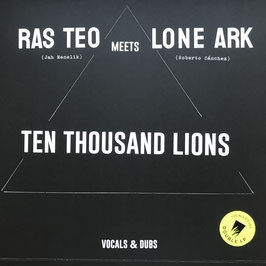 RAS TEO meets LONE ARK - Ten Thousand Lions (A-Lone 2LP)