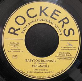 "RAS ANGELS - Babylon Burning (Rockers 7"")"