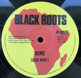 "SUGAR MINOTT - Rome (Black Roots 12"")"