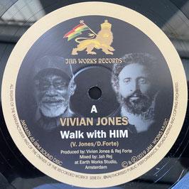 """VIVIAN JONES - Walk with HIM (Jah Works 10"""")"""