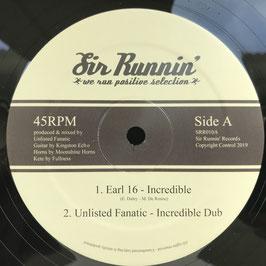 """EARL SIXTEEN - Incredible (Sir Runnin' 12"""")"""