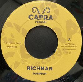 """DANMAN - Richman (Capra 7"""")"""