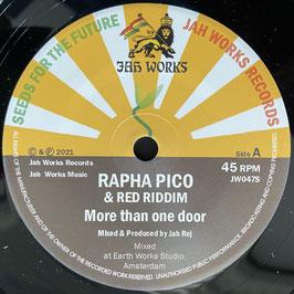 "RAPHA PICO - More Than One Door (Jah Works 7"")"