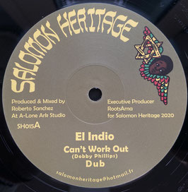 "EL INDIO, I JAH SALOMON - Can't Work Out (Salomon Heritage 12"")"