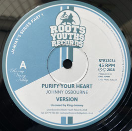 """JOHNNY OSBOURNE - Purify Your Heart (Roots Youths 12"""")"""