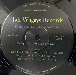 """KING ALPHA - King Of All Kings (Jah Waggys 12"""")"""