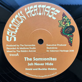 "THE SAMSONITES - Jah Never Hide (Salomon Heritage 12"")"