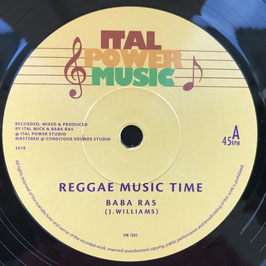 "BABA RAS - Reggae Music Time (Ital Power 7"")"