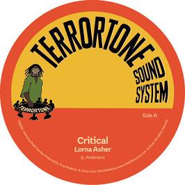 "LORNA ASHER - Critical (Terrortone 7"")"