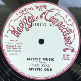 "HARD ROCK - Mystic Music (Reggae Connection/JFR 12"")"
