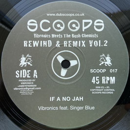 "VIBRONICS ft SINGER BLUE - If A No Jah / BUSH CHEMISTS ft MADU - Stand Up (Scoops 10"")"