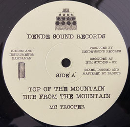 "MC TROOPER - Top Of The Mountain (Dende Sound 10"")"