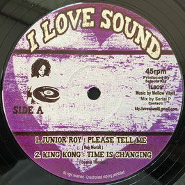 """JUNIOR ROY, KING KONG - Please Tell Me (I Love Sound 12"""")"""