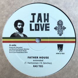 "RAS TEO - Father House (Jah Love 12"")"