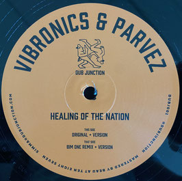 "VIBRONICS & PARVEZ - Healing Of The Nation (Dub Junction 12"")"
