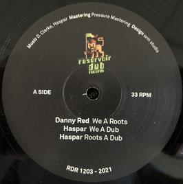 "DANNY RED - We A Roots (Reservoir Dub 12"")"