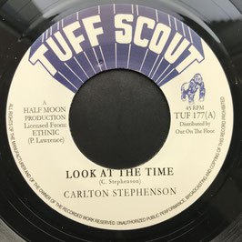 "CARLTON STEPHENSON - Look At The Time (Tuff Scout 7"")"