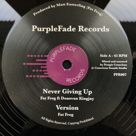"DONOVAN KINGJAY - Never Giving Up (PurpleFade 12"")"