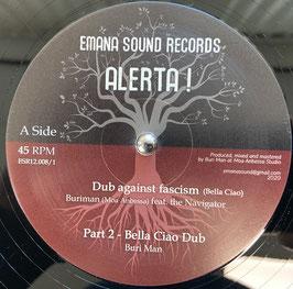 "BURIMAN feat The Navigator - Dub Against Fascism (Emana Sound 12"")"