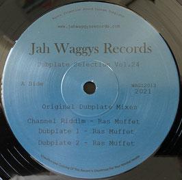 "RAS MUFFET - Channel Riddim (Jah Waggys 12"")"