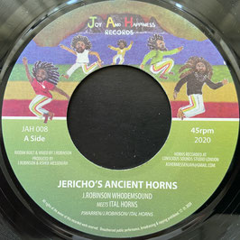 "ITAL HORNS - Jericho's Ancient Horns (Joy And Happiness 7"")"