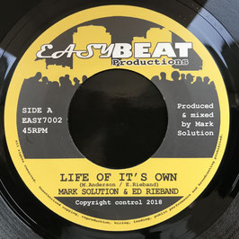 "MARK SOLUTION - Life Of It's Own (Easy Beat 7"")"