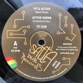 """BLACK OMOLO - Fit & Active (Satta Dub 12"""")"""