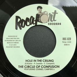 "CORNEL CAMPBELL - Hole In The Ceiling (Rocafort 7"")"