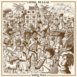 SPRING WATA - Living Reggae (Blackboard Jungle LP)