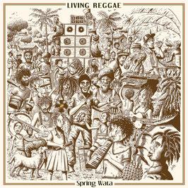 SPRING WATA - Living Reggae (Blackboard Jungle LP)