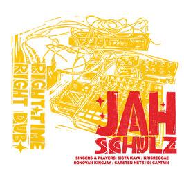 JAH SCHULZ - Right Time, Right Dub (Railroad LP)