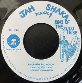 "YOUNG WARRIOR - Master's Choice (Jah Shaka 7"")"