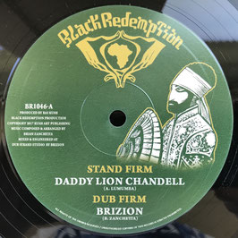 "DADDY LION CHANDELL - Stand Firm (Black Redemption 10"")"