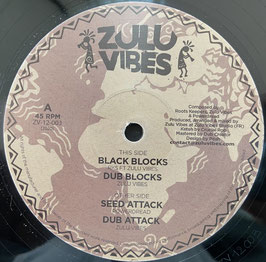 "RKS ft ZULU VIBES - Black Blocks (Zulu Vibes 12"")"