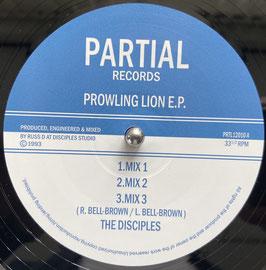 """DISCIPLES - Prowling Lion (Partial 12"""")"""