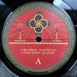 "RAS AMLAK - Spread Jah Love (Black Redemption 12"")"