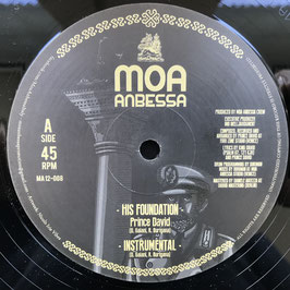 "PRINCE DAVID - His Foundation (Moa Anbessa 12"")"