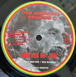 "RAS DIVARIUS - Violins of Jah (Dub Invasion 7"")"