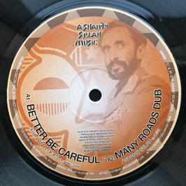 "DAN I LOCKS - Better Be Careful (Ashanti Selah 10"")"