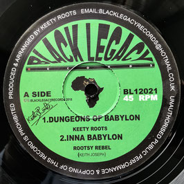 "KEETY ROOTS - Dungeons Of Babylon (Black Legacy 12"")"