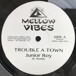 """JUNIOR ROY - Trouble A Town (Mellow Vibes 12"""")"""