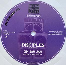 """DISCIPLES - Oh Jah Jah / Jah Militia Dub (Dubshop.nl 10"""")"""