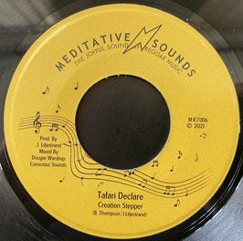 "CREATION STEPPER - Tafari Declare (Meditative Sounds 7"")"