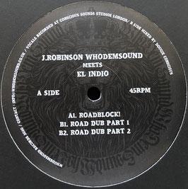 "EL INDIO - Roadblock (WhoDemSound 12"")"