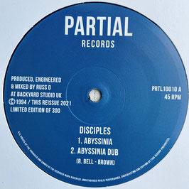 "DISCIPLES - Abyssinia (Partial 10"")"
