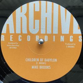 """MIKE BROOKS - Children of Babylon (Archive 12"""")"""