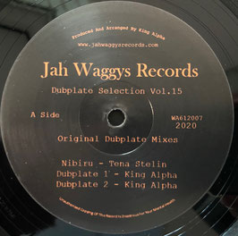 "TENA STELIN & KING ALPHA - Nibiru / Mountain (Jah Waggys 12"")"
