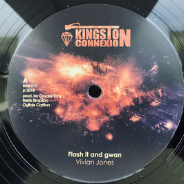 "VIVIAN JONES - Flash It And Gwan (Kingston Connexion 12"")"