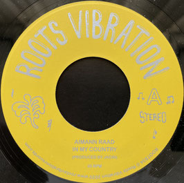 """AIMANN RAAD - In My Country (Roots Vibration 7"""")"""