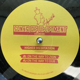 """HIGHER MEDITATION - On The Way To Zion (Lion's Den 12"""")"""